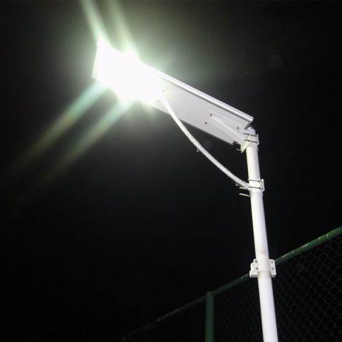 Luminaria solar led para exterior